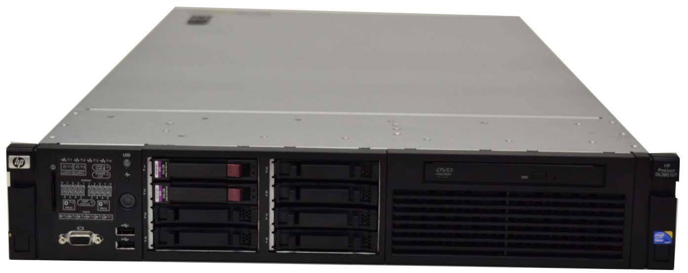 hp proliant dl380 g7 refurbished for sale 499 90. Black Bedroom Furniture Sets. Home Design Ideas