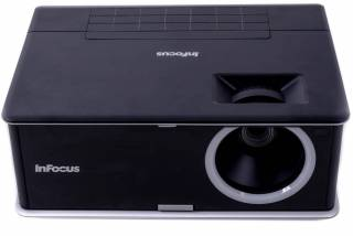 infocus in3116 dlp projector example - click to zoom