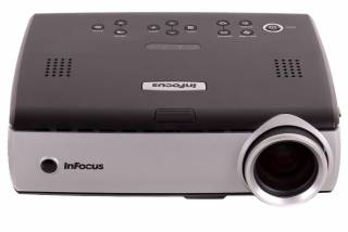Infocus IN32 DLP projector example - click to zoom