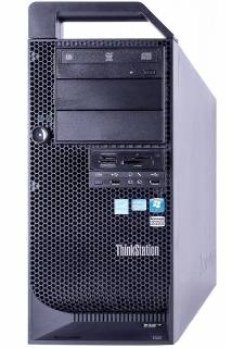 Lenovo ThinkStation D30 Workstation 2 x Six Core E5-2620, 250 GB SSD NEW, 32 GB RAM, Quadro 2000, DVD-RW, Windows 10 Pro