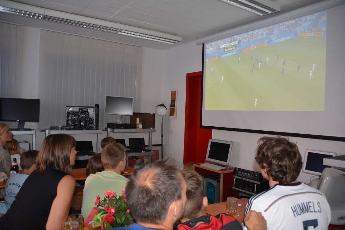 Uli Ludwig Computer im WM Fieber am 26.06.2014